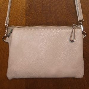 Cream small handbag